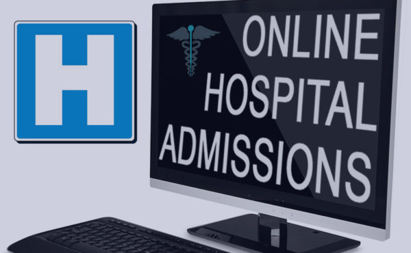 Online Hospital Admissions